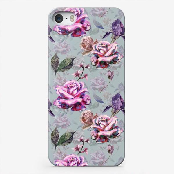 Чехол iPhone «Acrylic rose»