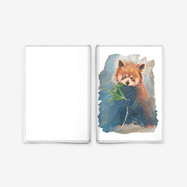 Обложка для паспорта «Красная панда»
