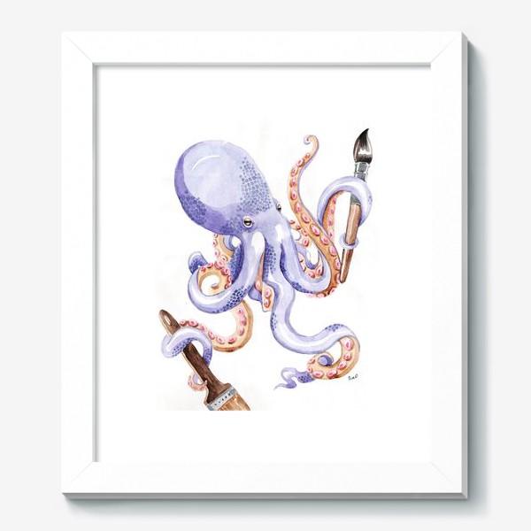 Картина «Осминог творчества»