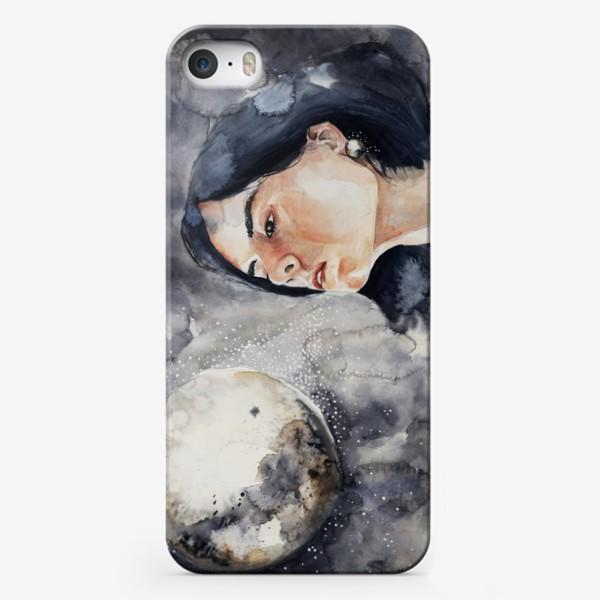 Чехол iPhone «Ночь. Акварель »
