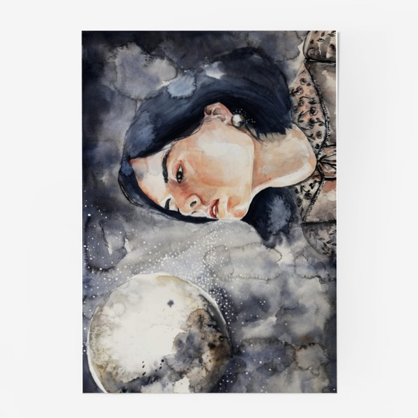 Постер «Ночь. Акварель »