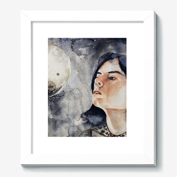 Картина «Ночь. Акварель »