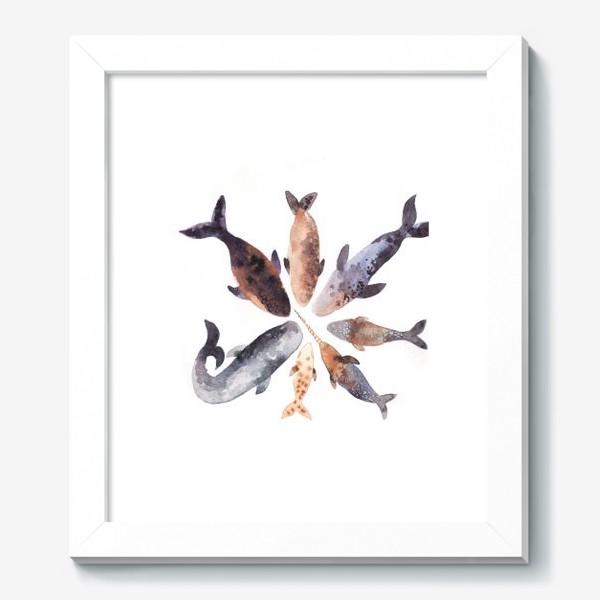 Картина «Киты»