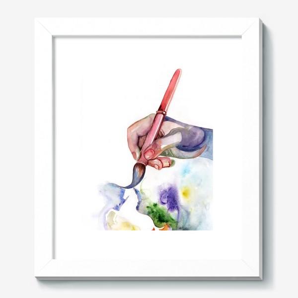 Картина «Рука творчества»