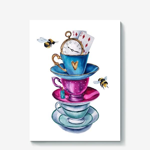 Холст «Чаепитие»