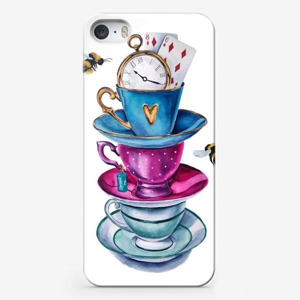 Чехол iPhone «Чаепитие»