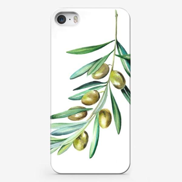 Чехол iPhone «Веточка оливок»