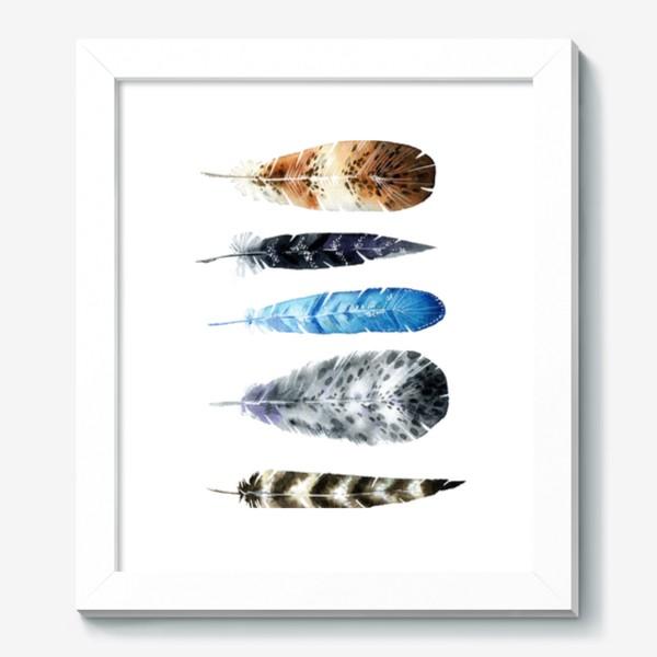 Картина «Пять красивых перьев»