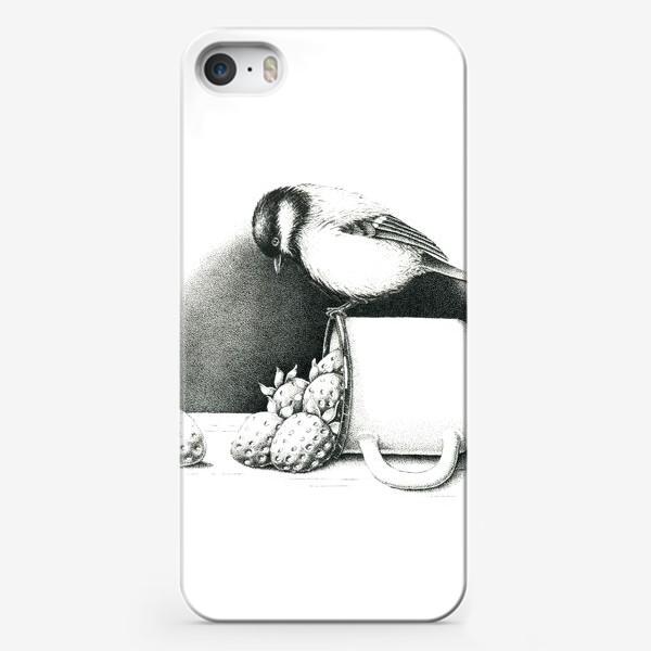 Чехол iPhone «Синица»