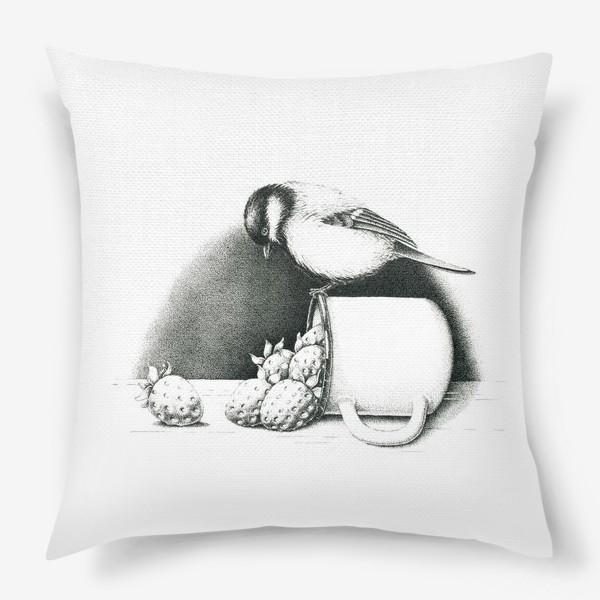 Подушка «Синица»