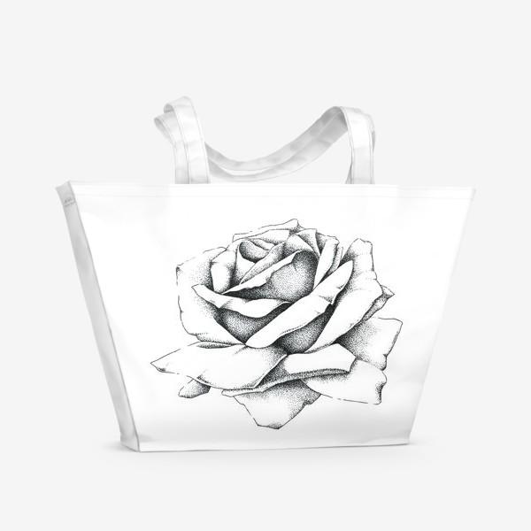 Пляжная сумка «Роза»