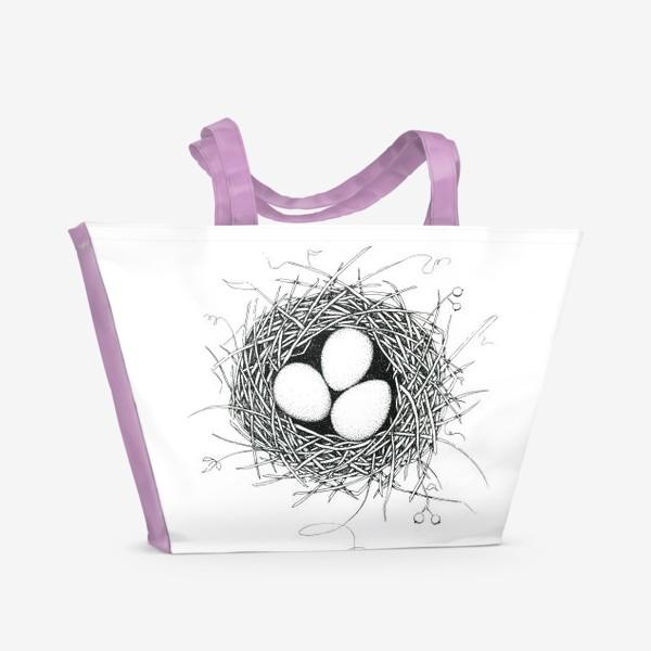 Пляжная сумка «Гнездо»