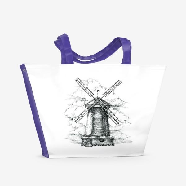Пляжная сумка «Мельница»
