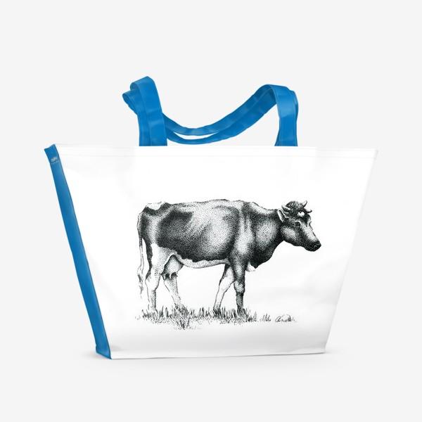 Пляжная сумка «Корова»