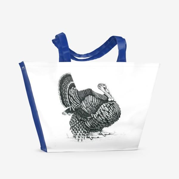 Пляжная сумка «Индюк»