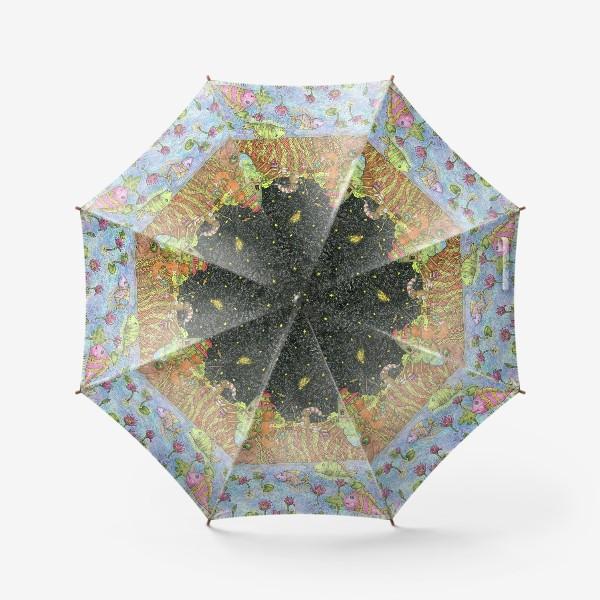 Зонт «Путешествие кота и лиса»