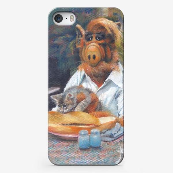 Чехол iPhone «Альф и Со»