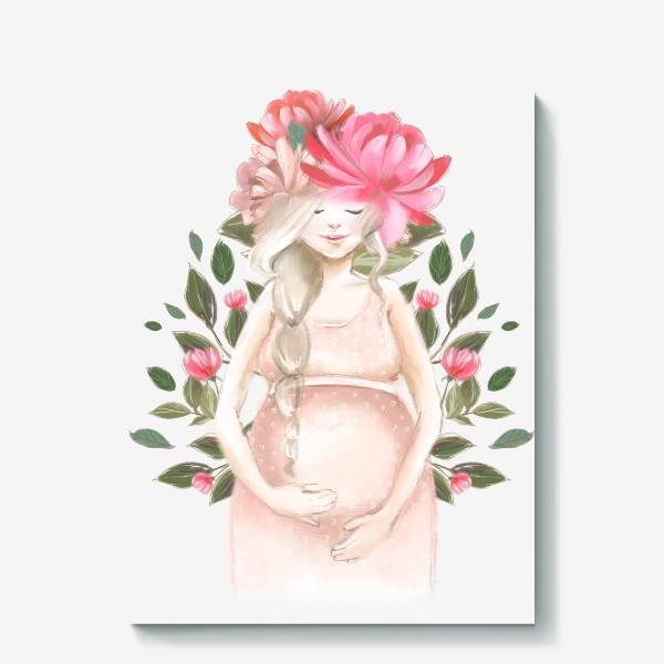 Холст «Беременность, ребенок»