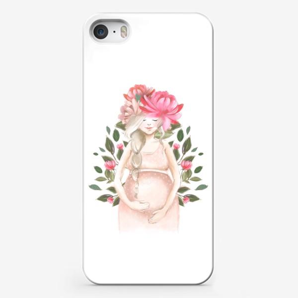 Чехол iPhone «Беременность, ребенок»