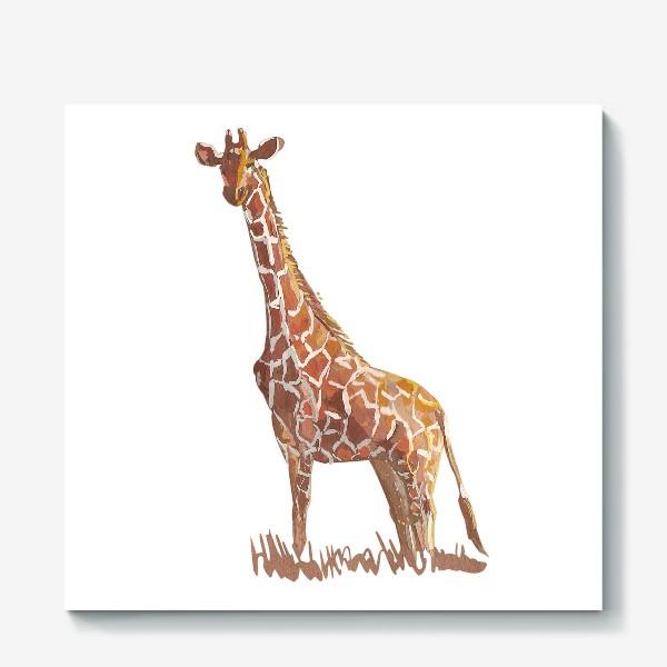 Холст «Жираф»