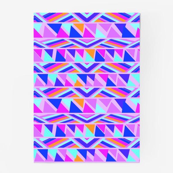 Постер «геометрия в полосках»