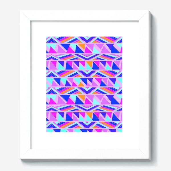 Картина «геометрия в полосках»