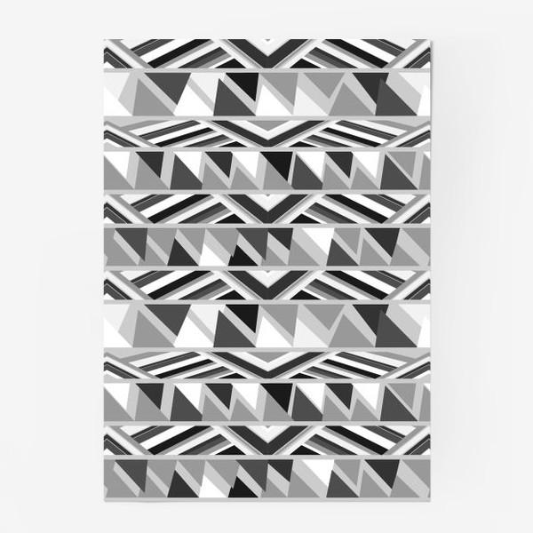 Постер «геометрия в сером»