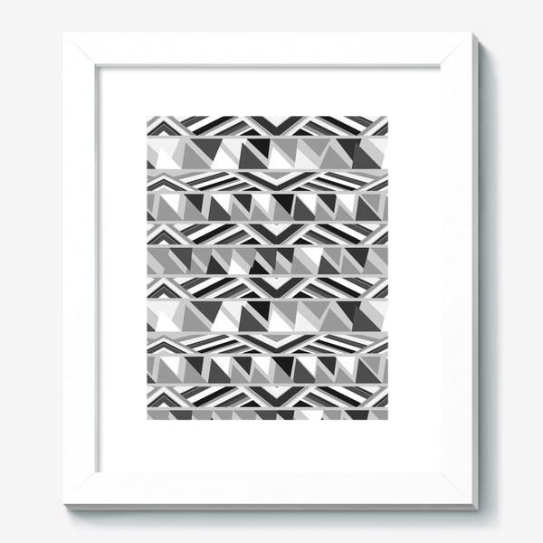 Картина «геометрия в сером»