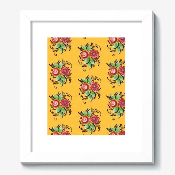 Картина «Городецкие цветы»
