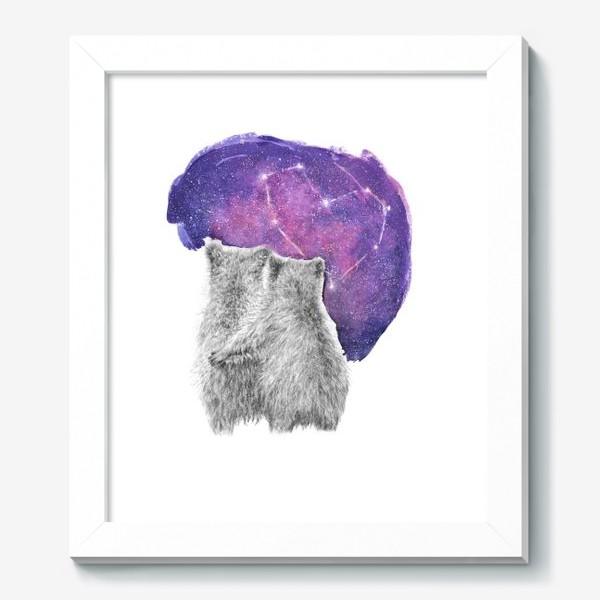 Картина «Влюбленная парочка. Мишки»