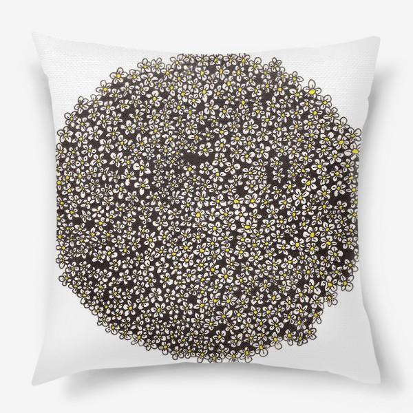 Подушка «Планета ромашек»