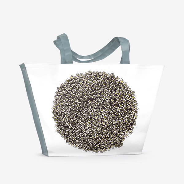 Пляжная сумка «Планета ромашек»