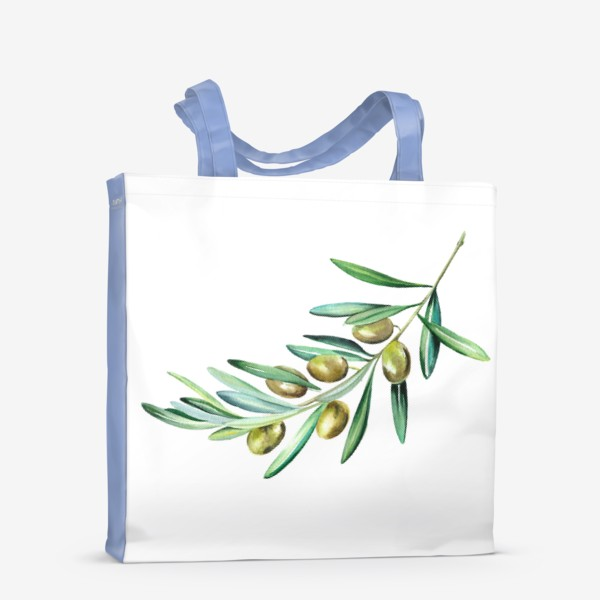 Сумка-шоппер «Веточка оливок»