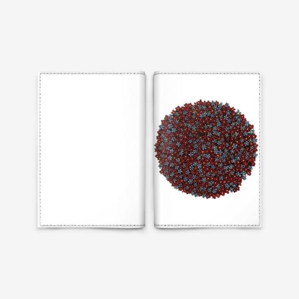 Обложка для паспорта «Планета цветов»