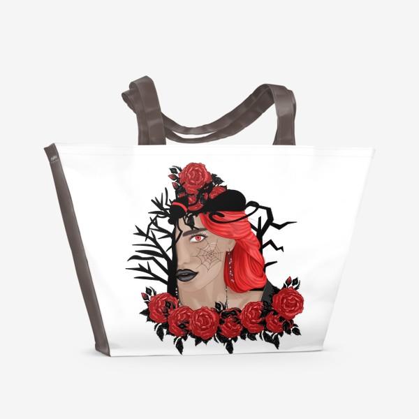 Пляжная сумка «Ведьма»