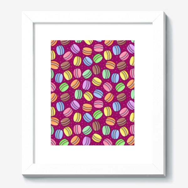 Картина «Сладкие макаруны»