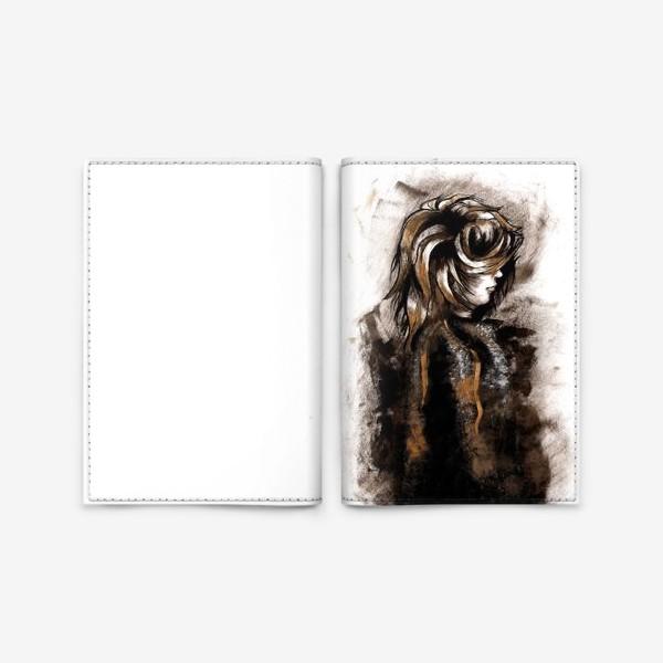 Обложка для паспорта «Faceless»