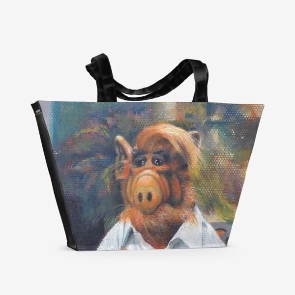 Пляжная сумка «Альф и Со»