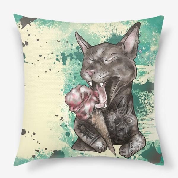 Подушка «Кот мороженое »