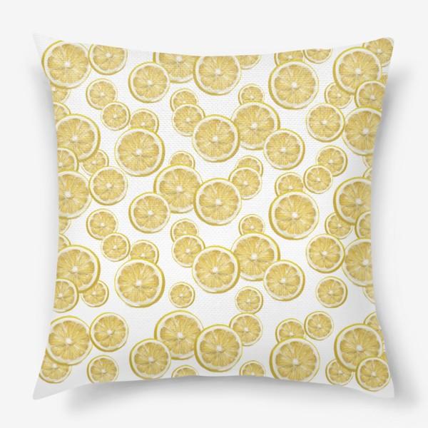 Подушка «Лимончики »