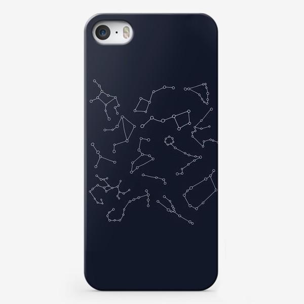 Чехол iPhone «Созвездия. Звезды. Знаки зодиака. Астрономия»