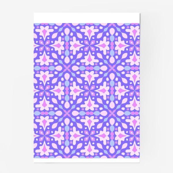 Постер «Абстрактный орнамент»
