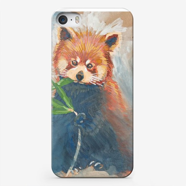 Чехол iPhone «Красная панда»