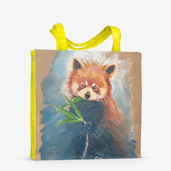 Сумка-шоппер «Красная панда»