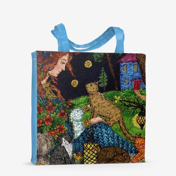 Сумка-шоппер «Старый сад»