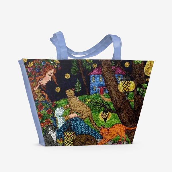 Пляжная сумка «Старый сад»