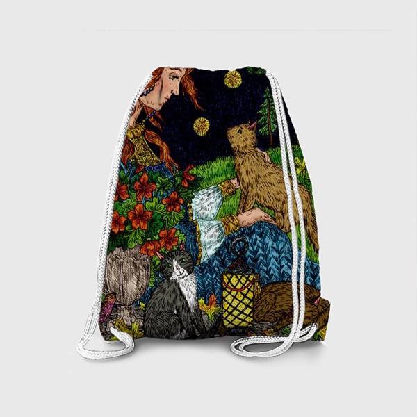Рюкзак «Старый сад»