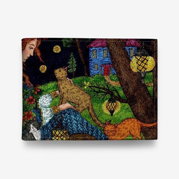 Кошелек «Старый сад»