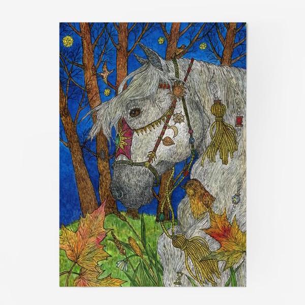 Постер «Белая лошадь»