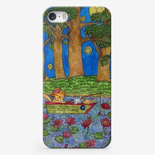 Чехол iPhone «Ночная рыбалка»